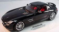 Mercedes-Benz SLS AMG Flügeltürer Gullwing Modellauto im Maßstab 1:18 von Maisto