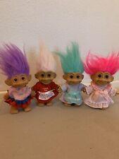 Vintage Russ Troll Dolls Lot