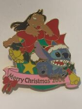 Disney Pin LILO And Stitch Merry Christmas 2004 Japan Jds Le 900
