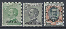 COLONIE ERITREA 1925 Soprastampati MNH** (KF)