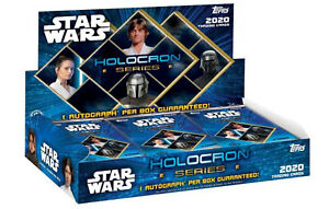 Topps Star Wars Holocron Series Factory Sealed Hobby Box