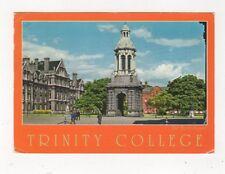 Trinity College Front Square Dublin Ireland 1988 Postcard 988a