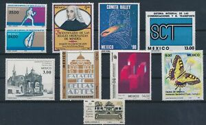LO43476 Mexico mixed thematics nice lot of good stamps MNH