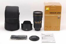 Nikon  NIKKOR  24-70mm F2.8 E ED VR Nano Crystal,From Japan,Excellent+++,,TK1190