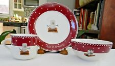 Nikko Let It S'More 3-Piece Child'S Set Plate Bowl Mug New With Tags by Midwest