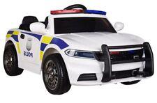 Kinderelektrofahrzeug Elektroauto Polizei Neu