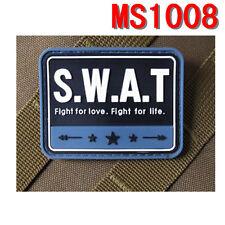 Stock Militaria Special Weapons Blue S.W.A.T PVC Rubber Magic Stick Patch Paste