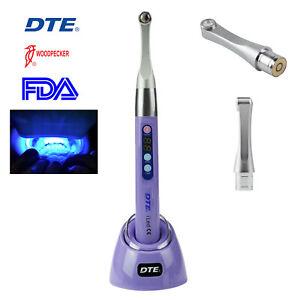 Woodpecker Metal Head Dental i Led Curing Light 1 Second Cure Lamp 2600mw/c㎡ FDA