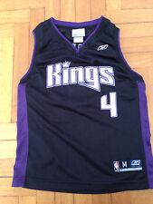 Canotta Jersey Nba Webber Sacramento Kings Reebok 10 12 Youth Jordan Basket VTG