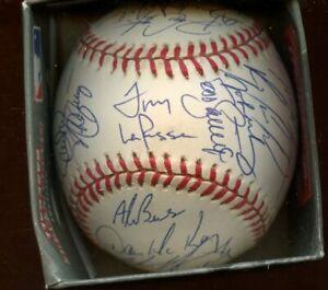 1997 St. Louis Cardinals Team Signed ONL Coleman Baseball 30 Signatures