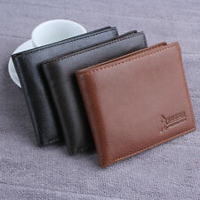 Mens Leather Wallet Card Holder Coin Purse Pockets Bifold Money Clip Wallets Pro