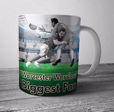 Worcester Warriors Fan Rugby Mug - Birthday / Christmas Gift / Stocking Filler