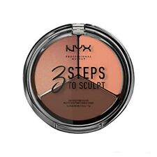 NYX Cosmetics 3 Steps To Sculpt Face Sculpting Palette-3STS04 Deep