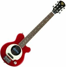 Red Pignose PGG-200 Deluxe Mini Electric Guitar w/ Built in Amp & Gig Bag