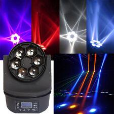 New 100W RGBW Light 6x18W DMX-512 Stage Lighting DJ Disco Xmas Party Lights 11CH