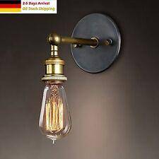 Retro Antik-Stil Industrie Wandleuchte Wandlampe Sconce Wall Lampe Licht E27