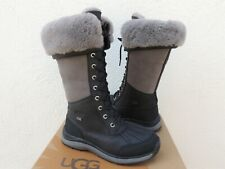 UGG BLACK TALL ADIRONDACK III eVENT WATERPROOF SNOW BOOTS, US 8.5/ EUR 39.5 ~NIB