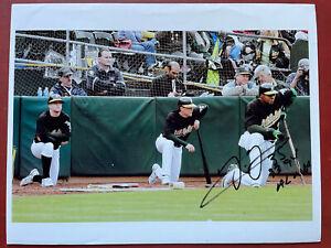 """FRANK THOMAS *autographed 8 1/2 X 11"""" *100% Authentic* A's HOF* White Sox"""