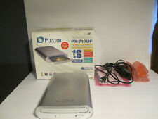Plextor PX-716UF DVD/CD Rewritable External Drive Excellent Condition with Box