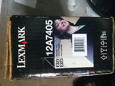 TONER ORIGINALE NERO PER LEXMARK E321 E323 E220 12A7405