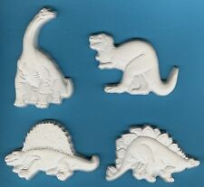 Dinosaurs (Plaster-of-Paris) painting project. Set of 4!