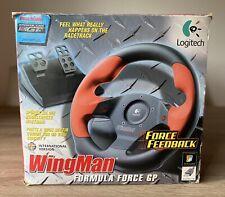 Volante Logitech Wingman Formula Force GP Racing Wheel
