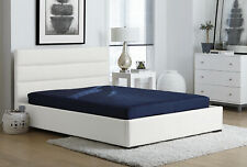 6 Quilted Mattress Full Size Memory Foam Home Bedroom Bed Sleeping Furniture
