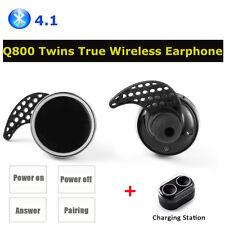Mini Bluetooth 4.1 Earbuds Sport True Wireless Bass Twins Stereo In-Ear Earphone