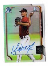 YOAN LOPEZ MLB  2015 BOWMAN CHROME PROSPECT AUTOGRAPHS REFRACTORS (DIAMONDBACKS