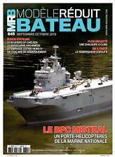 MRB magazine modèle réduit de bateau N°645 - Le BPC Mistral (Sept/oct 2019)
