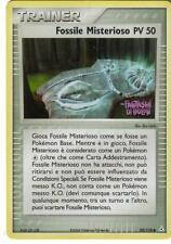 CARTA POKEMON - TRAINER - FOSSILE MISTERIOSO PV 50 - 92/110 - FOIL - FANTASMI HO