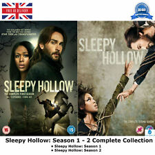 Sleepy Hollow - Season 1 - 2 Complete Collection with all 31 Episodes NEW UK DVD