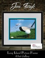 Jim Furyk Golfer Signed Photo  8x10 NEWLY CUSTOM FRAMED JSA COA