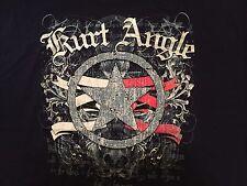 TNA Wrestling Kurt Angle T Shirt XXL 2XL The Warrior Red White Blue Eagle WWE