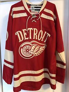 Detroit Red Wing Zetterberg Jersey - 2014 Winter Classic