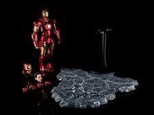 EZHOBI TOYS HYPER GOKIN Iron Man Mark III 3 Battle Damage 1/10 Figure w/ Base
