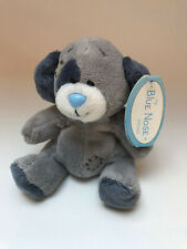 NEW BLUE NOSE FRIENDS PATCH THE DOG BEANIE PLUSH SOFT CUDDLY TOY CARTE BLANCHE