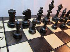Ajedrez, ajedrez dama + + backgammon de madera tablero de ajedrez 40 x 40 cm