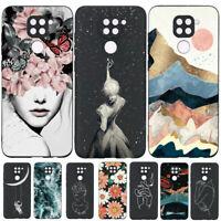 For Xiaomi Redmi Note 9 9S 9 8 7 Pro Max 8T Soft Rubber TPU Pattern Case Cover