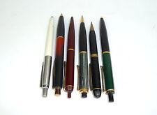 Sechs alte Stifte Schreibstift Füller Bleistift Parker Pelikan