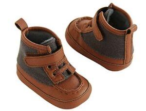 Carter's Crib Duck Boots (Sz 3-6 Mo) Tan Crib Boots NWT