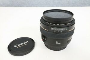 Canon EF 50mm F/1.4 USM Standard and Medium Telephoto Lens for Canon SLR Cameras