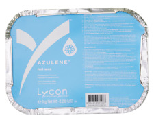 Lycon Azulene hard hot wax weight 1 KG.