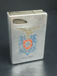 Antique Cigarette Lighter Esprit Made in Germany DP of the Portuguese Air Force