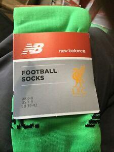 Liverpool football socks Junior size 6 to 8 new   New Balance Mams G / K  item 2
