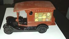 Vintage Avon Country Vendor Glass Decanter Ford Model-T Collectible Bottle