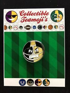 New Orleans Saints football lapel pin-Emoji styled Collectible