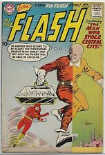 The Flash V.1 #116 DC 1960 Silver Age Comic Book FN-/FN (+ Kid Flash Story)