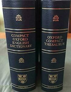 COMPACT OXFORD ENGLISH DICTIONARY By Catherine Soanes - Hardcover