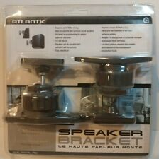 Atlantic Speaker Brackets Tilt & Swivel Thermoplastic 10 lb. Support Item #SPB03